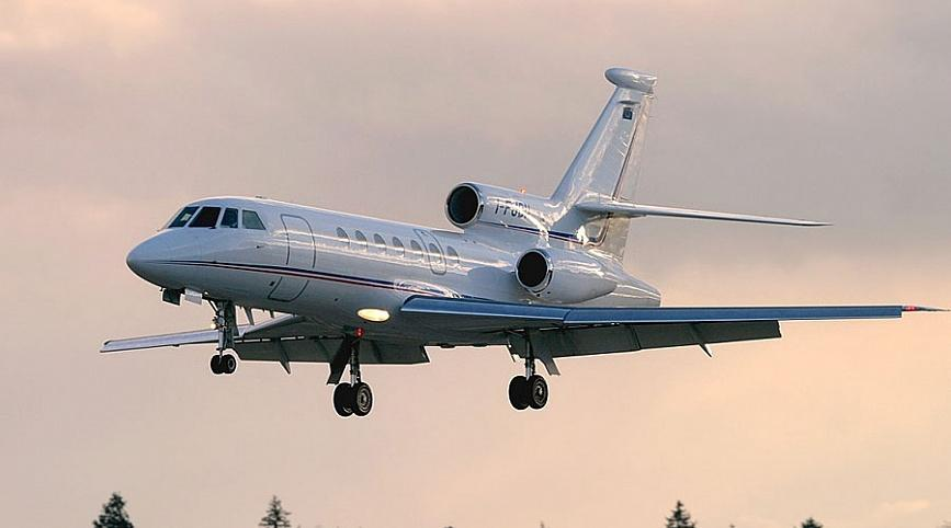 flying falcon 50 ifr